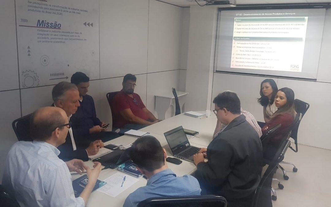 Reunião Coordenadores e Suplentes Grupos de Trabalho Fórum Capixaba de Petróleo e Gás