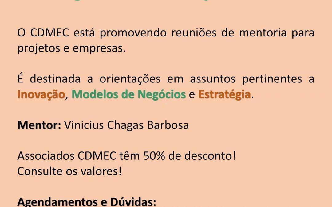 Mentoria: Programa de Inovação CDMEC