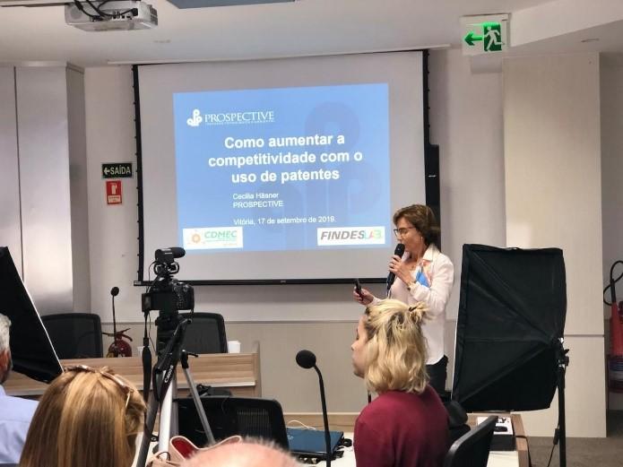 Cecilia Häsner no CDMEC