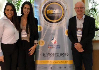 Juliana (Milanez&Milaneze), Luciana (CDMEC), Leonado Cereza (Itamil-CDMEC-Sindifer)