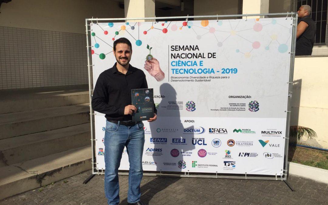 CDMEC na Semana Estadual de Ciência e Tecnologia