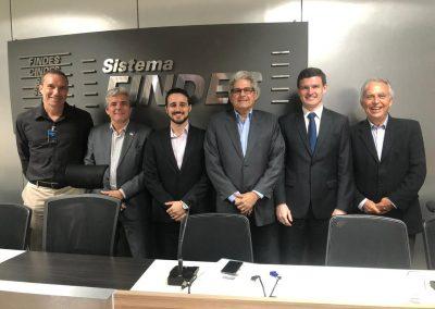 Carlos Henrique, Marcos Navarro, Leandro Barcellos, Heber Resende, Munir Abud e Durval Vieira