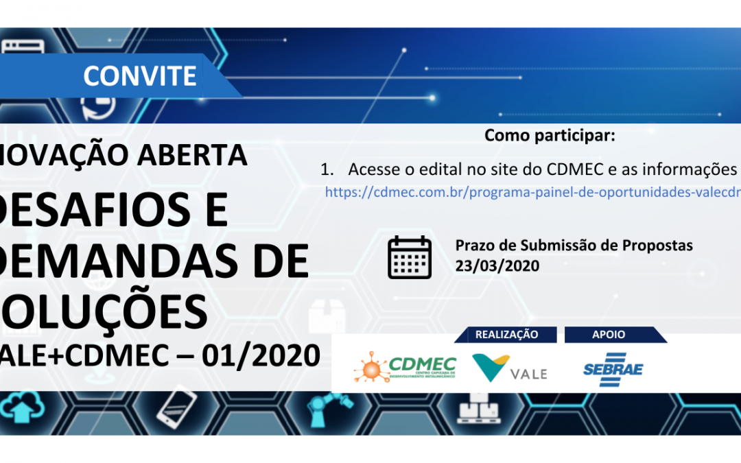 Programa Painel de Oportunidades Vale+CDMEC