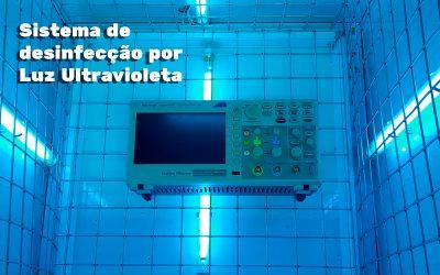 Sistema de desinfecção por luz ultravioleta