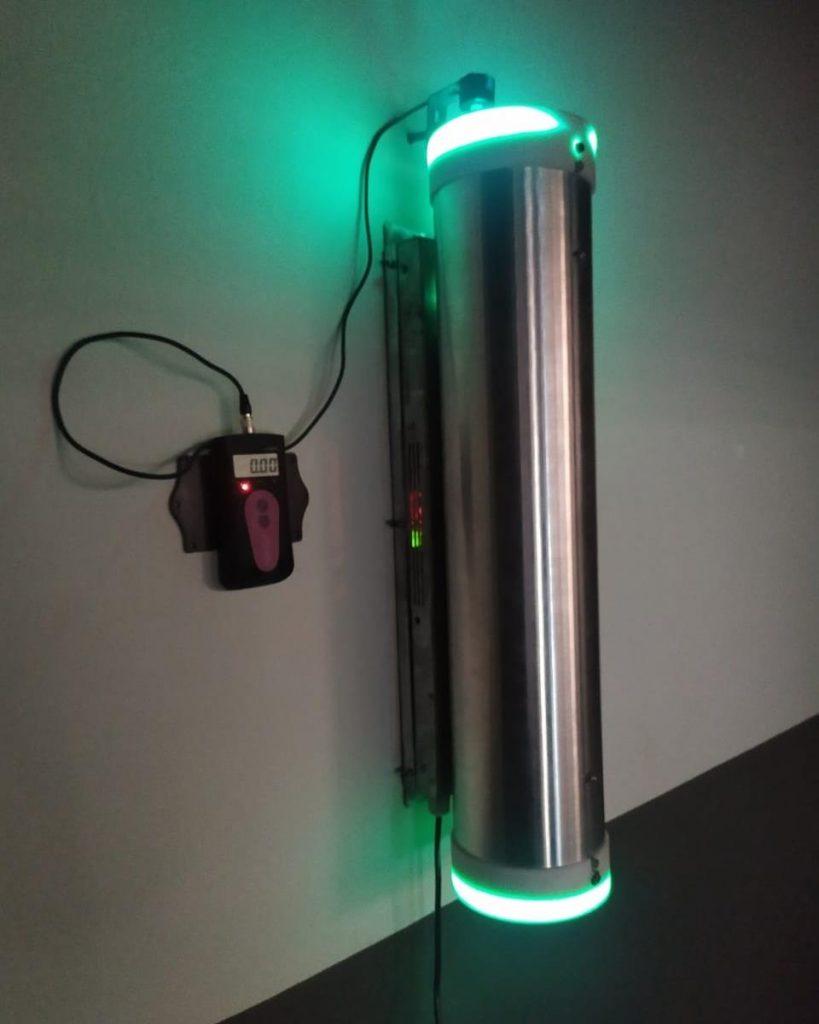 Esterilizador de Ar UV-C