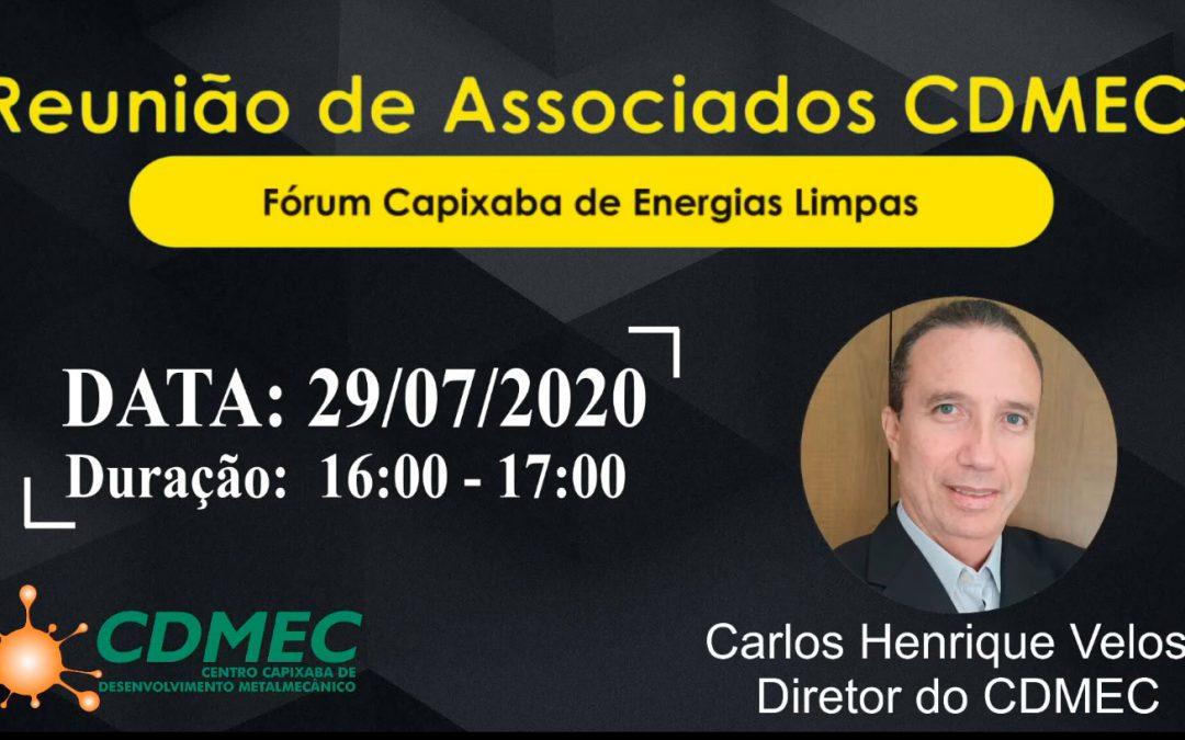 Fórum Capixaba de Energias Limpas FCEL – Apresentação em reunião do CDMEC
