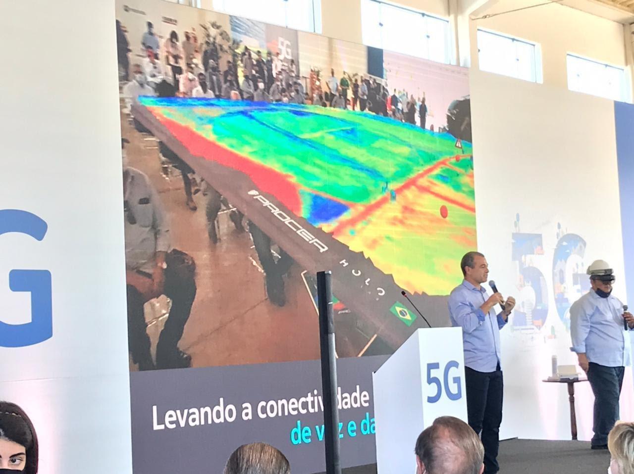 inauguração de primeira antena de 5G em área rural