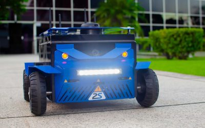 2Solve desenvolve plataforma robótica móvel multipropósito